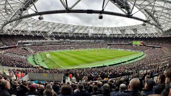 London Stadium, sección: 231, fila: 42, asiento: 598