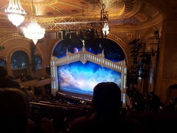 Eugene O'Neill Theatre, sección: Mezz, fila: L, asiento: 4
