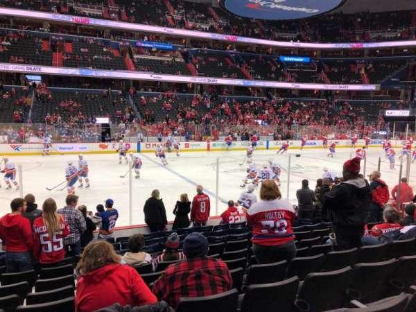 Capital One Arena, sección: 110, fila: L, asiento: 16