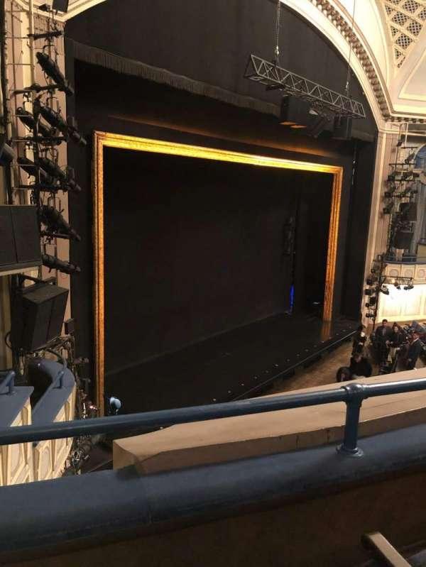 Ambassador Theatre, sección: Front Mezzanine L, fila: B, asiento: 13