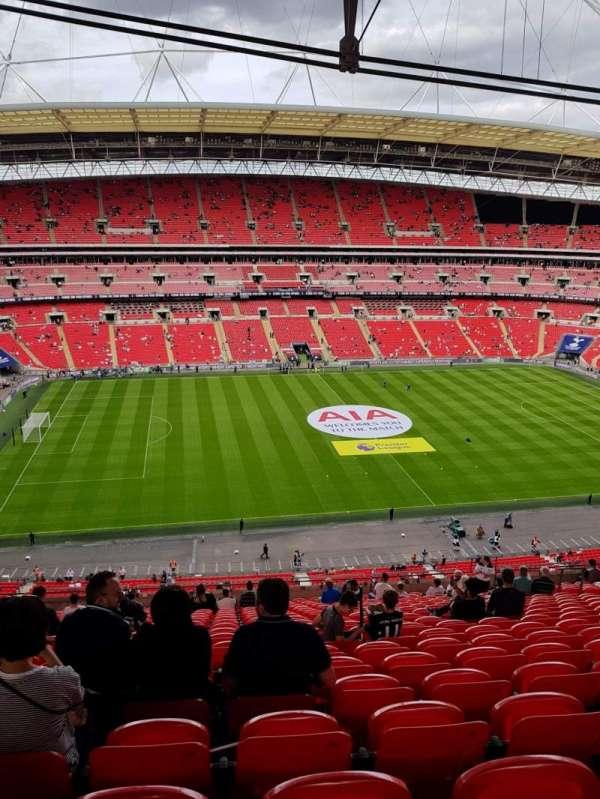 Wembley Stadium, sección: 529, fila: 21, asiento: 62
