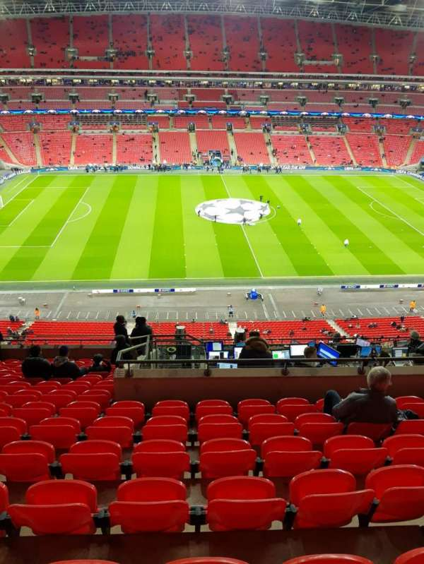 Wembley Stadium, sección: 528, fila: 14, asiento: 27