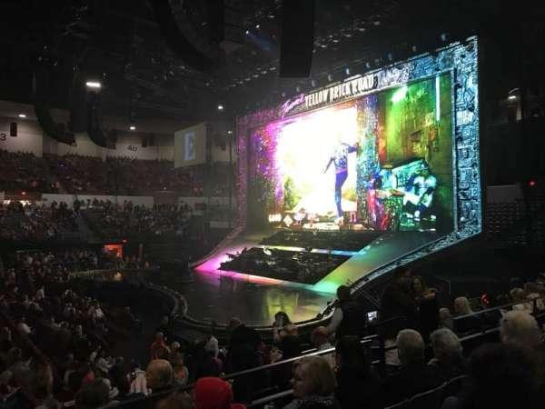 Pechanga Arena, sección: L12, fila: 4, asiento: 8