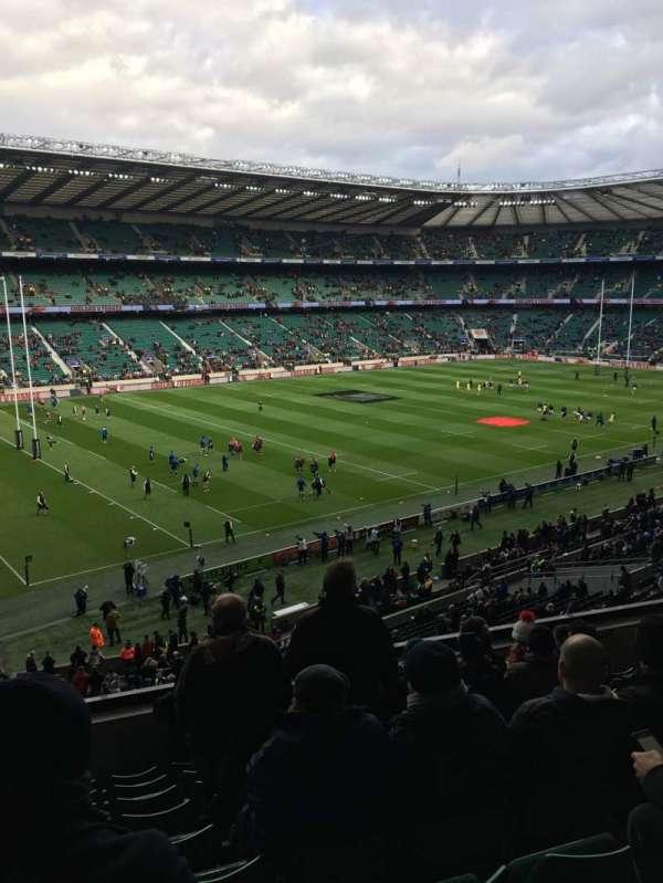 Twickenham Stadium, sección: M12, fila: 60, asiento: 334