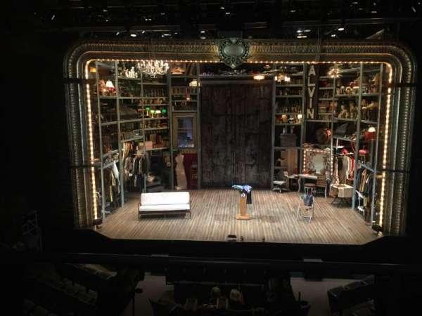 Laura Pels Theatre, sección: Mezzanine Prime, fila: BB, asiento: 107