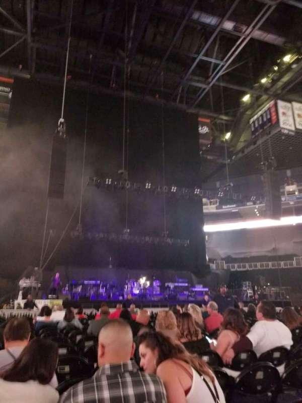 Talking Stick Resort Arena, sección: C, fila: 19, asiento: 8