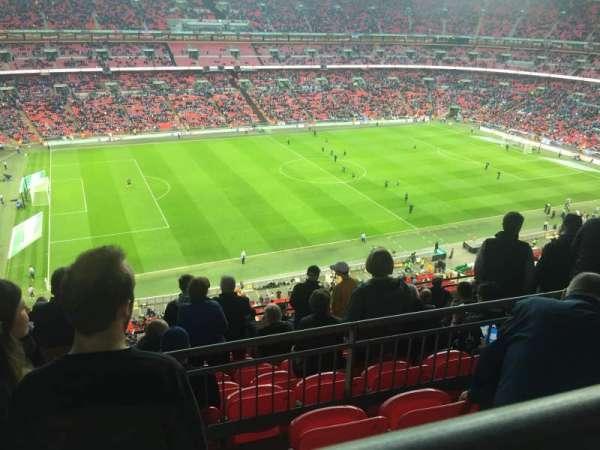 Wembley Stadium, sección: 504, fila: 10, asiento: 96