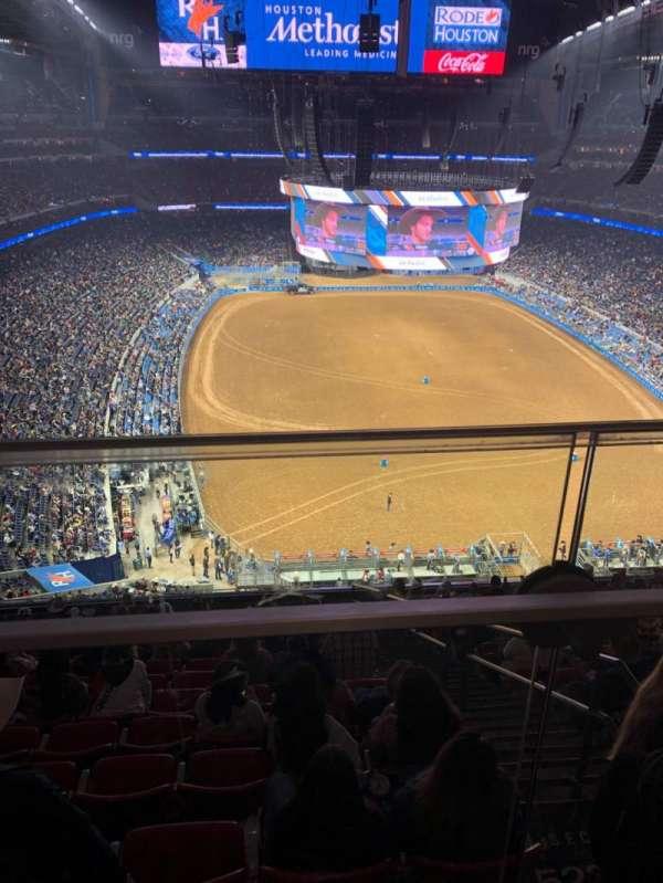 NRG Stadium, sección: 623, fila: A, asiento: 17