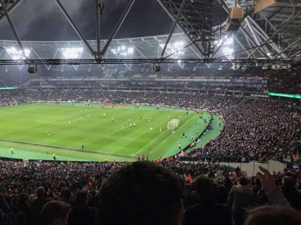 London Stadium, sección: 242, fila: 50