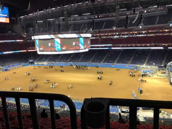 NRG Stadium, sección: 306, fila: V, asiento: 8