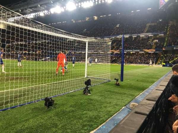 Stamford Bridge, sección: Shed Lower, fila: 1, asiento: 118