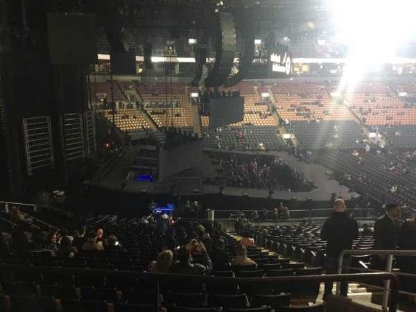 Scotiabank Arena, sección: 110, fila: 26, asiento: 3