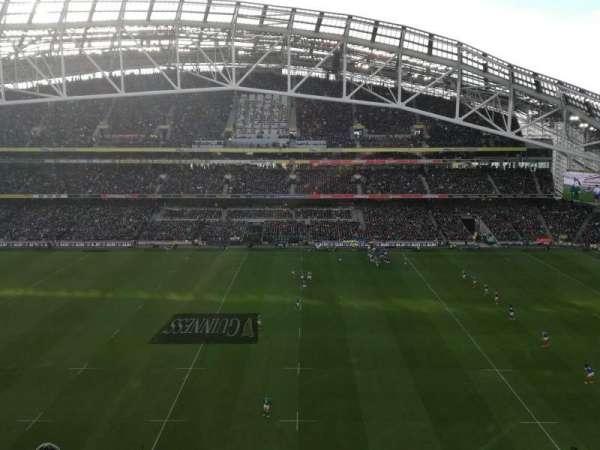 Aviva Stadium, sección: 504, fila: H, asiento: 10
