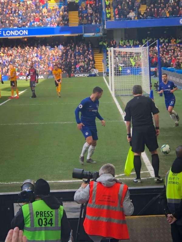 Stamford Bridge, sección: 1, fila: 10, asiento: 4