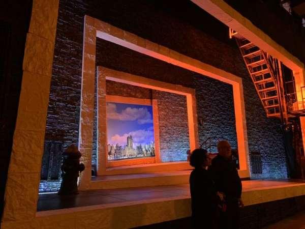 Tony Kiser Theatre, sección: ORCH LEFT, fila: B , asiento: 6