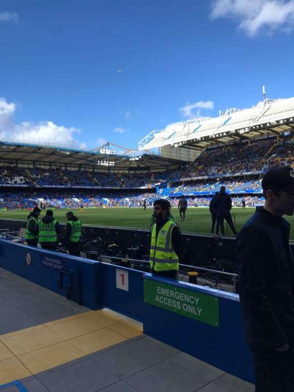 Stamford Bridge, sección: WL1, fila: 1, asiento: 146