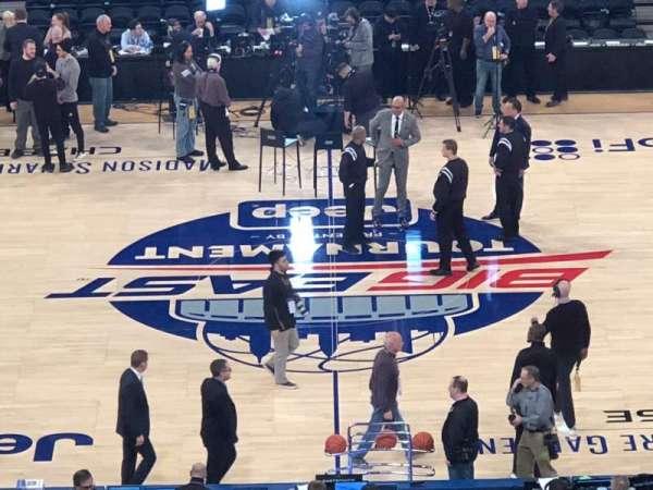 Madison Square Garden, sección: 211, fila: 5, asiento: 11