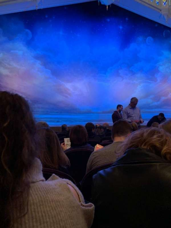 Eugene O'Neill Theatre, sección: Orch Center, fila: H