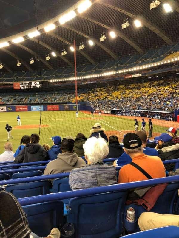 Olympic Stadium, Montreal, sección: 106, fila: MM, asiento: 11