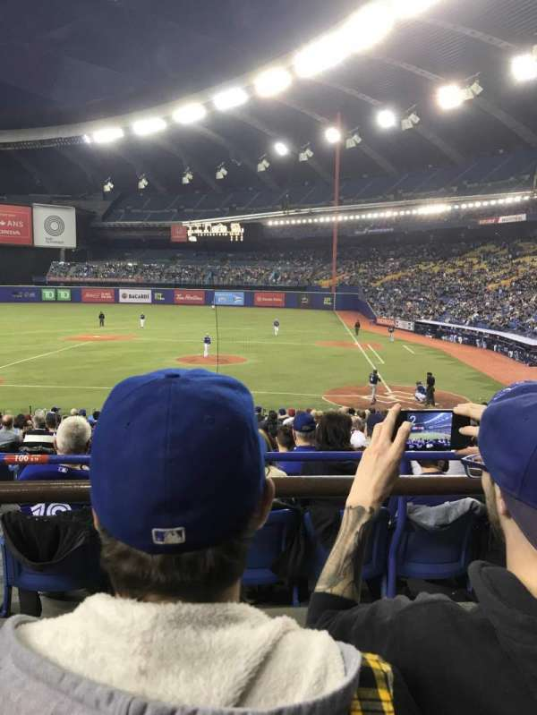 Olympic Stadium, Montreal, sección: 106, fila: B, asiento: 16