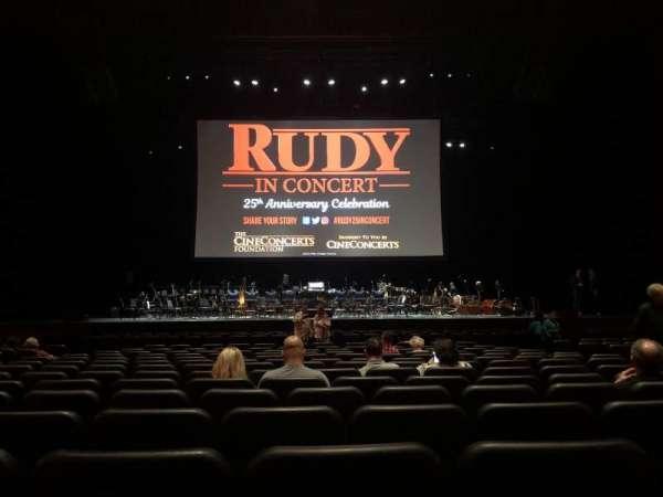 Microsoft Theater, sección: Orchestra Center, fila: P, asiento: 310