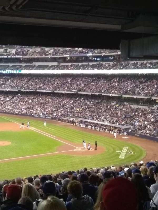 Miller Park, sección: 224, fila: 20, asiento: 21