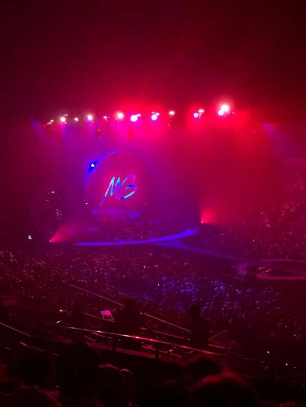 Pechanga Arena, sección: T21c, fila: 12, asiento: 5