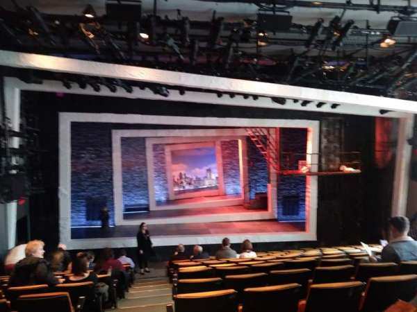 Tony Kiser Theatre, sección: Orchestra, fila: M, asiento: 101