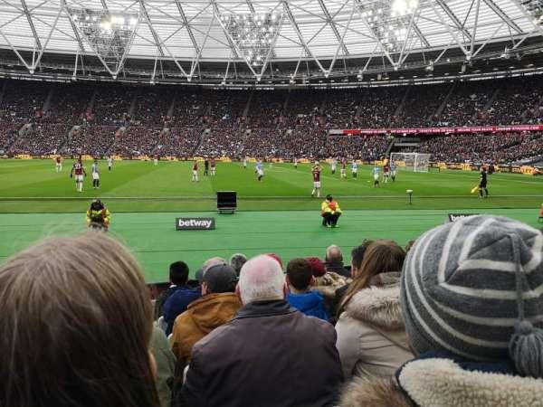 London Stadium, sección: 110, fila: 6, asiento: 263