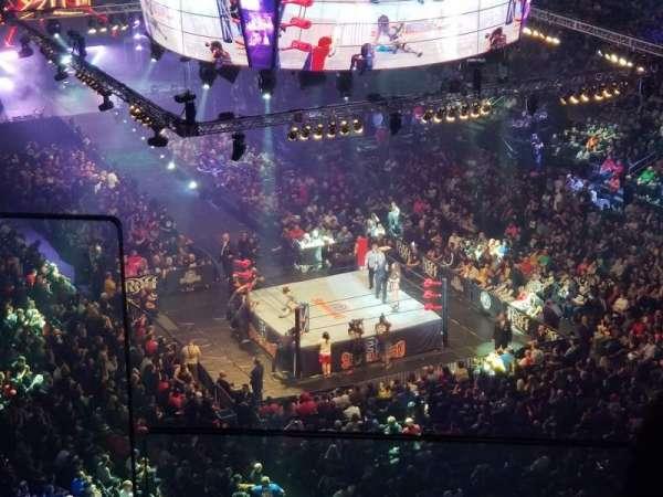 Madison Square Garden, sección: 302, fila: BS3, asiento: 12
