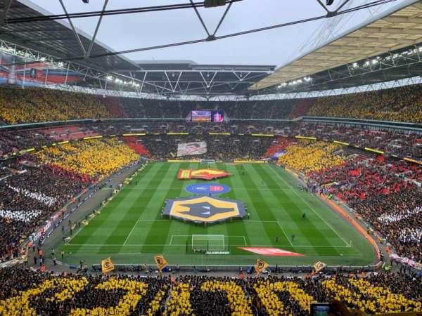 Wembley Stadium, sección: 514, fila: 17, asiento: 1