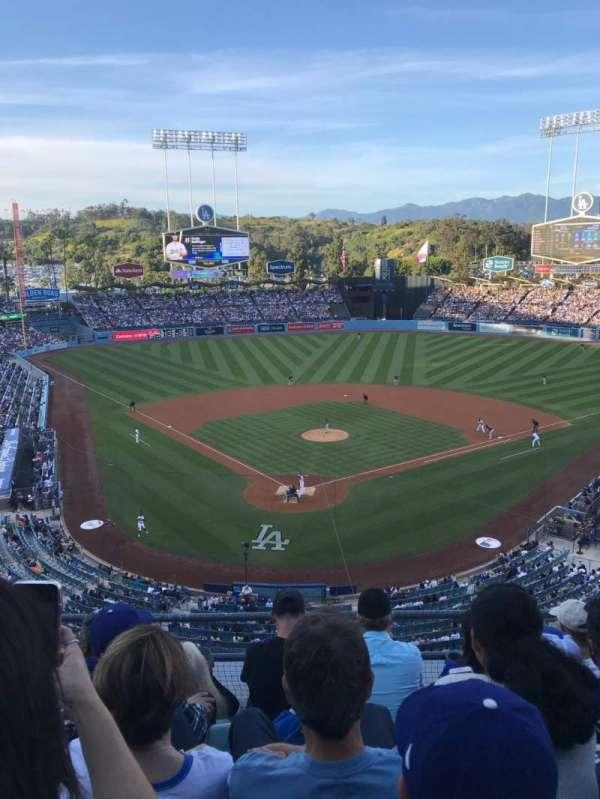 Dodger Stadium, sección: 2RS, fila: E, asiento: 10