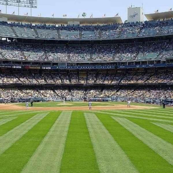 Dodger Stadium, sección: 307PL, fila: A , asiento: 5
