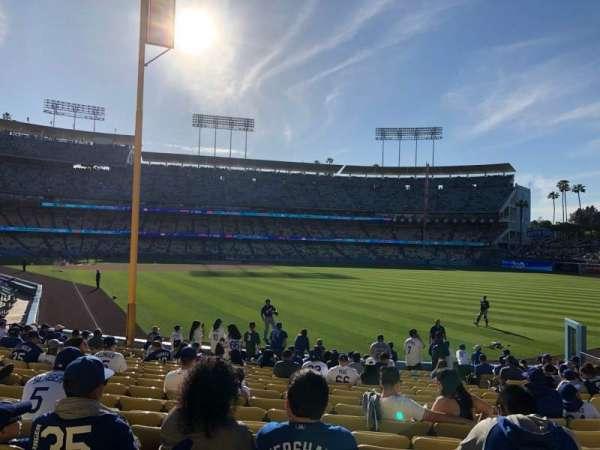 Dodger Stadium, sección: 50Fd, fila: S, asiento: 15