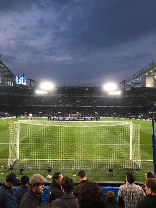 Stamford Bridge, sección: Shed Lower, fila: 9, asiento: 110