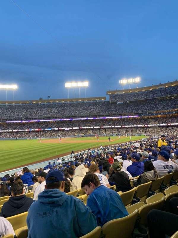 Dodger Stadium, sección: 47fd, fila: S, asiento: 21