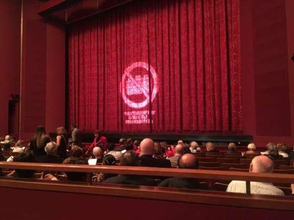 The Kennedy Center Opera House, sección: Orchestra, fila: R, asiento: 16