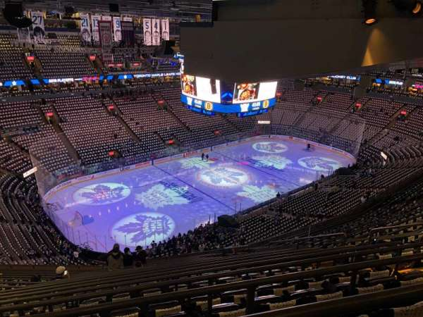 Scotiabank Arena, sección: 324, fila: 17, asiento: 8