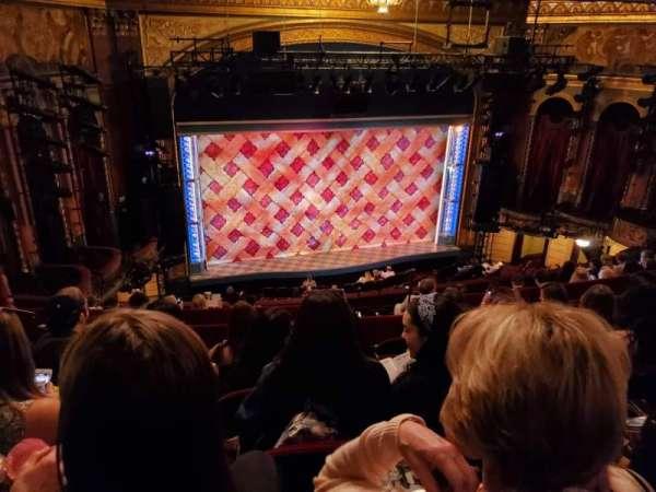 Brooks Atkinson Theatre, sección: Rear Mezzanine LC, fila: K, asiento: 127