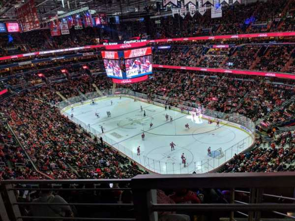 Capital One Arena, sección: 422, fila: G, asiento: 15