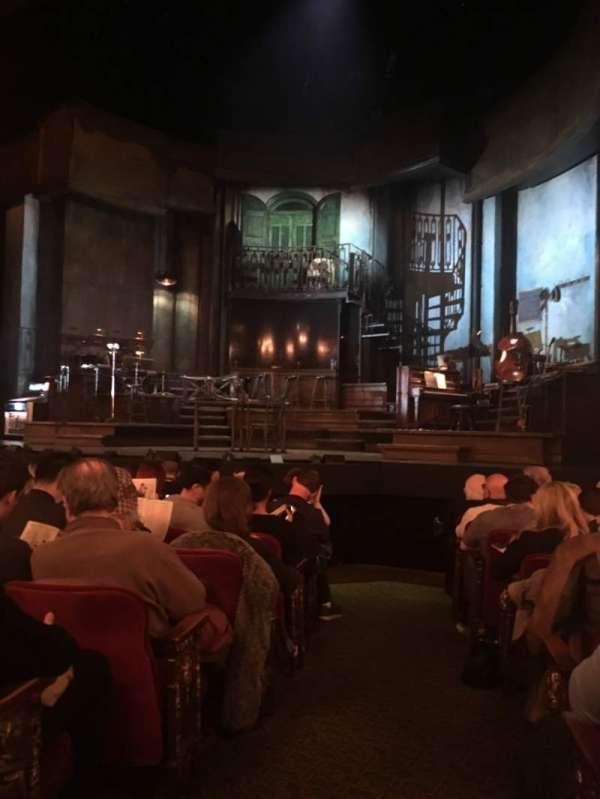Walter Kerr Theatre, sección: Orchestra, fila: K, asiento: 2