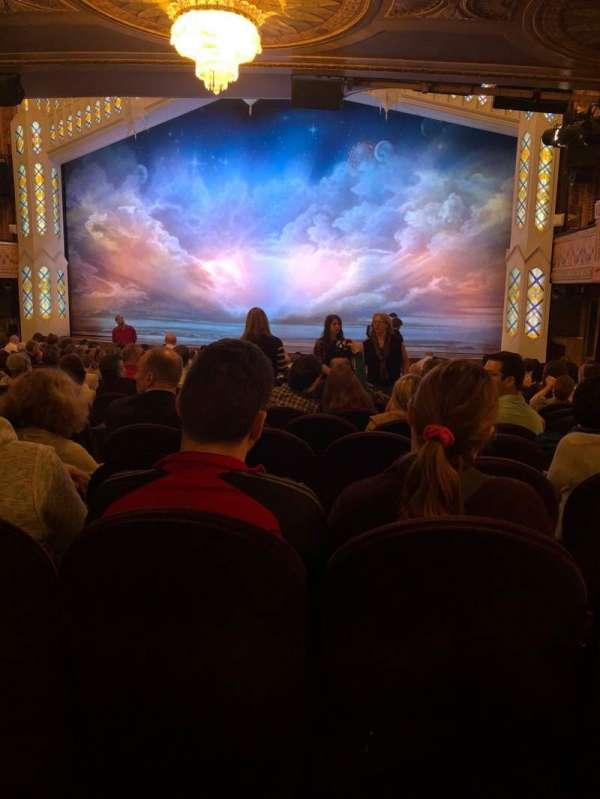 Eugene O'Neill Theatre, sección: Orchestra, fila: R, asiento: 6