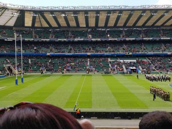 Twickenham Stadium, sección: L27, fila: 33, asiento: 262