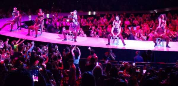 Staples Center, sección: 101, fila: 15, asiento: 1