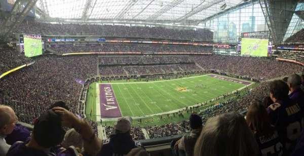 U.S. Bank Stadium, sección: 316, fila: C, asiento: 15