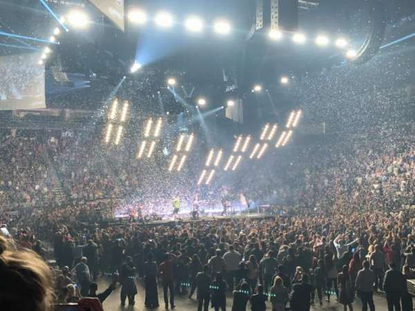 PPG Paints Arena, sección: 109, fila: K, asiento: 5