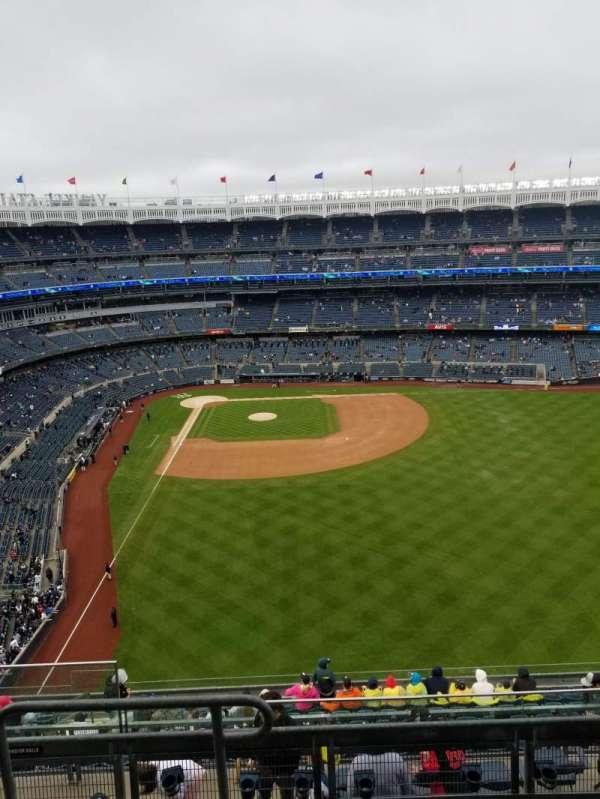 Yankee Stadium, sección: 405, fila: 5, asiento: 20