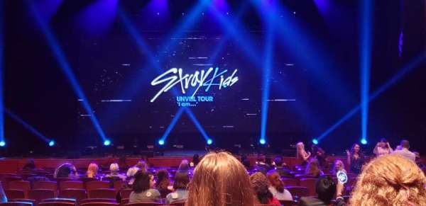 Prudential Hall at the New Jersey Performing Arts Center, sección: ORCH C, fila: K, asiento: 110