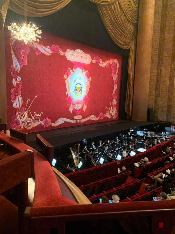 Metropolitan Opera House - Lincoln Center, sección: Parterre, fila: 5, asiento: 3