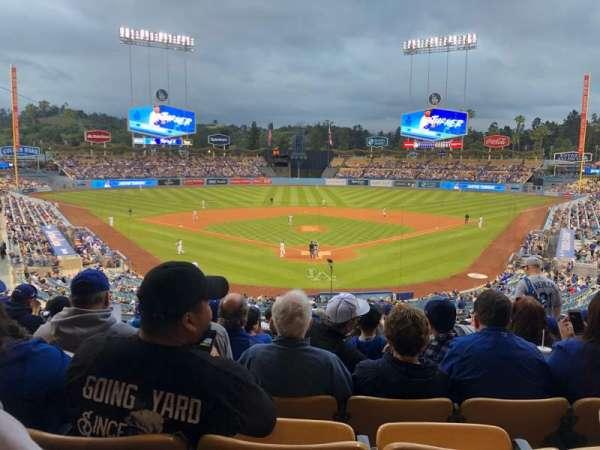 Dodger Stadium, sección: 101LG, fila: N, asiento: 5